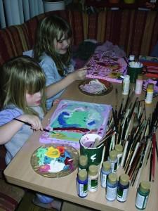 schilderen met acrylverf