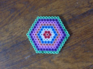 hexagon van hama