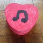 doosje met muzieknoot