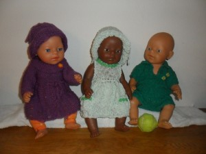 Poppenkleertjes voor o.a. Babyborn