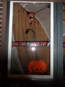 Raamdecoratie Halloween 2