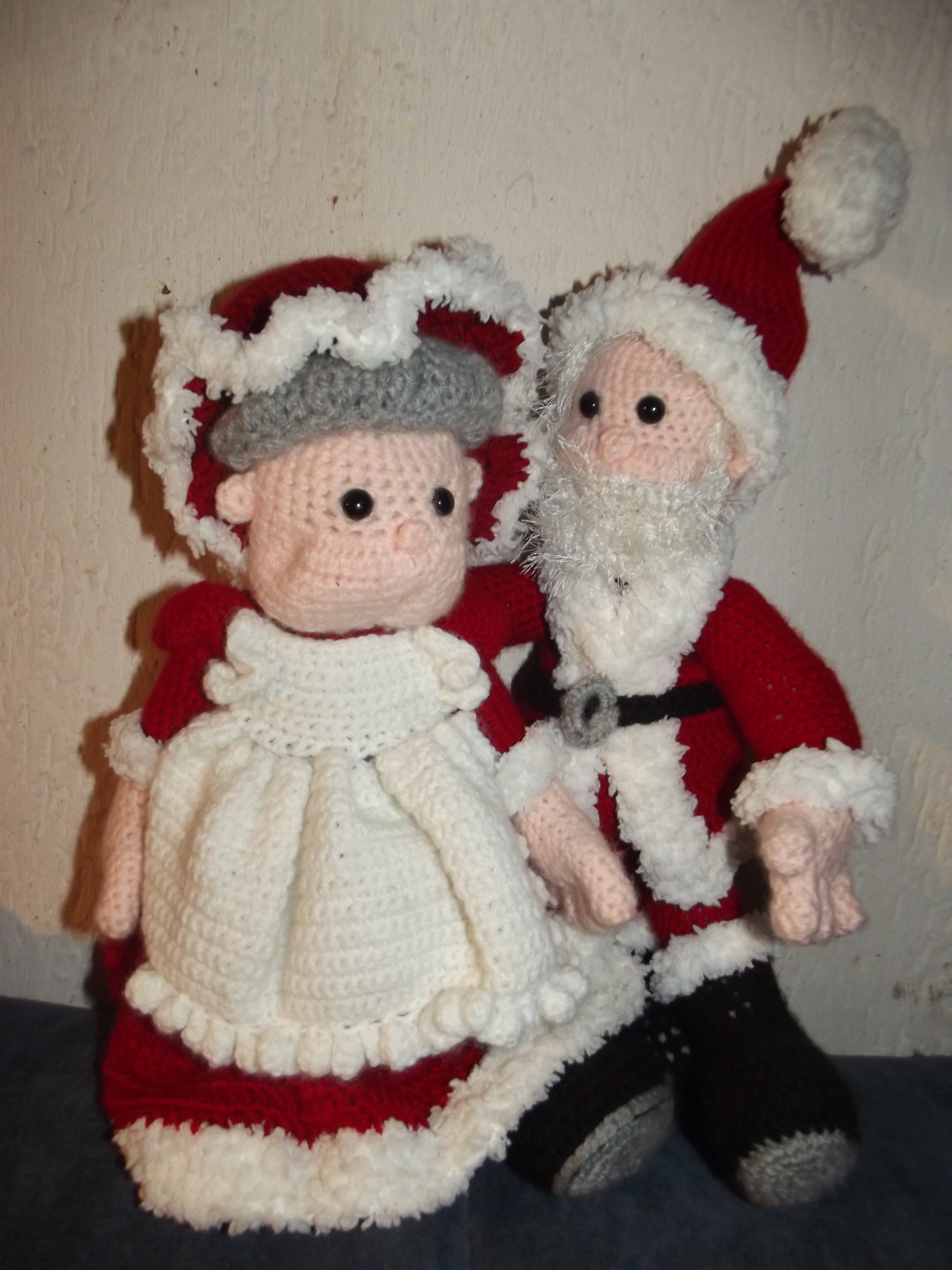Mr. & Mrs. Santa Claus